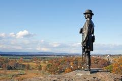 Het Nationale Militaire Park van Gettysburg Stock Fotografie