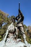 Het Nationale Militaire Park van Vicksburg stock fotografie