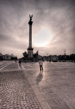 Het Nationale Monument van Boedapest Royalty-vrije Stock Afbeeldingen