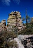Het Nationale Monument van Chiricahua Stock Afbeeldingen