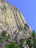 Het Nationale Monument van de duivelstoren, Zwarte Heuvels Royalty-vrije Stock Fotografie