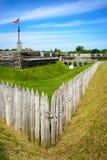 Het Nationale Monument van fortstanwix Stock Fotografie