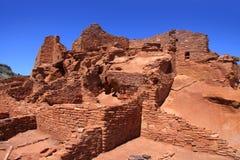 Het nationale monument van Pueblo van Wupatki Stock Foto's