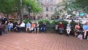 Het Nationale Monument van Stonewall stock videobeelden