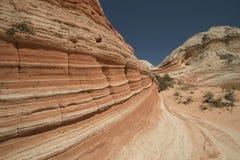Het Nationale Monument van vermiljoenenklippen, Witte Zak, Arizona de V.S. royalty-vrije stock afbeelding