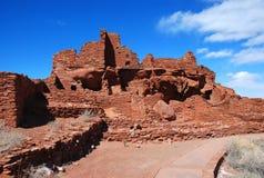 Het Nationale Monument van Wupatki Royalty-vrije Stock Afbeeldingen
