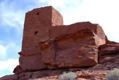 Het Nationale Monument van Wupatki Royalty-vrije Stock Foto
