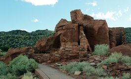 Het Nationale Monument van Wupatki Royalty-vrije Stock Foto's