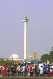 Het Nationale Monumentenpark Stock Afbeelding