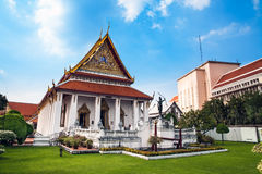Het Nationale Museum, Bangkok, Thailand. stock foto's