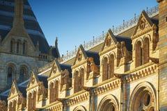 Het nationale Museum van de Geschiedenis: beeldhouwwerk details, Londen Royalty-vrije Stock Foto