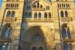 Het nationale Museum van de Geschiedenis in Londen, Engeland Stock Afbeelding