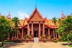 Het Nationale Museum van Kambodja, Phnom Penh stock fotografie