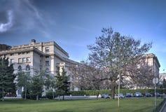 Het Nationale Museum van Kunst, Roemenië stock foto's