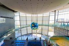 Het Nationale Museum van Nieuwe Nieuwe Wetenschap en Innovatie in Odaiba, Tokyo Stock Afbeeldingen