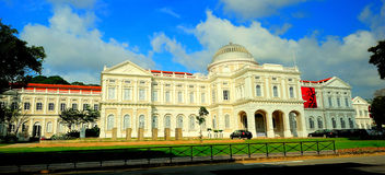 Het nationale Museum van Singapore stock fotografie