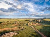 Het Nationale Natuurlijke Oriëntatiepunt van de zandkreek stock foto