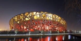 Het Nationale Olympische Stadion van China Stock Foto's