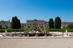 Het nationale Paleis Queluz Stock Foto's