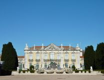Het nationale paleis Queluz royalty-vrije stock afbeeldingen