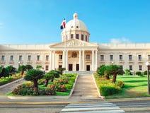 Het Nationale Paleis in Santo Domingo huisvest de bureaus van E stock fotografie