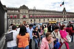 Het Nationale Paleis van Mexico Royalty-vrije Stock Foto's