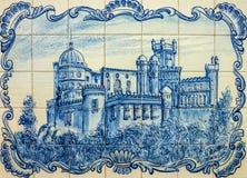 Het Nationale Paleis van Pena in Sintra, Portugal Stock Fotografie