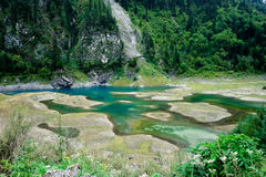 Het Nationale Park ï ¼ sicuan China van Jiuzhaigou Stock Foto