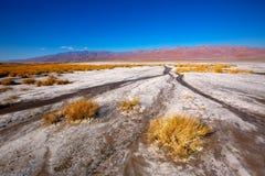 Het Nationale Park Californië Badwater van de doodsvallei Royalty-vrije Stock Afbeelding