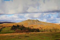 Het nationale park Devon van Sheepstordartmoor Royalty-vrije Stock Afbeelding