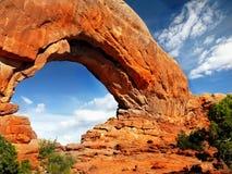 Het Nationale Park Utah van bogen Stock Foto