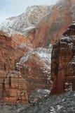 Het nationale Park Utah van Zion Stock Foto