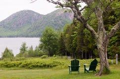Het Nationale Park van Acadia toneel Stock Fotografie