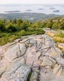 Het Nationale Park van Acadia toneel Royalty-vrije Stock Foto's