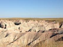 Het Nationale Park van Badlands Royalty-vrije Stock Foto