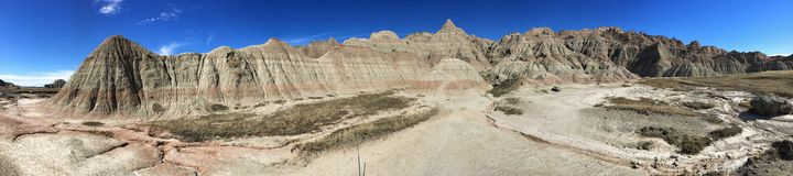 Het Nationale Park van Badlands stock foto