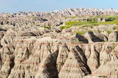Het Nationale Park van Badlands, Zuid-Dakota, de V.S. Royalty-vrije Stock Foto