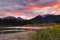 Het Nationale Park van Banff royalty-vrije stock foto's