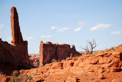Het Nationale Park van bogen Royalty-vrije Stock Foto's
