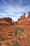 Het Nationale Park van bogen Stock Foto