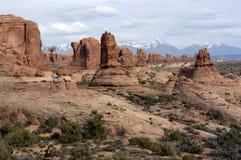 Het Nationale Park van bogen Stock Afbeelding