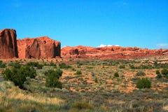 Het Nationale Park van bogen in Moab, Utah Stock Fotografie