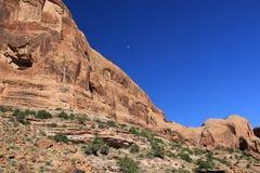Het Nationale Park van bogen in Utah Stock Afbeeldingen