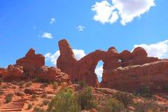 Het Nationale Park van bogen, Utah Stock Afbeelding