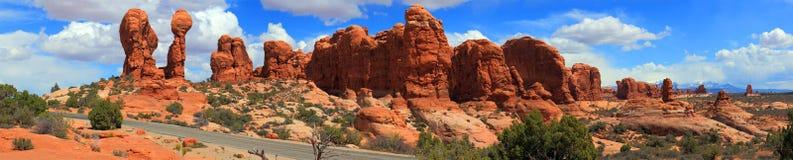 Het Nationale Park van bogen, Utah Royalty-vrije Stock Foto