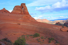 Het Nationale Park van bogen, Utah Stock Fotografie