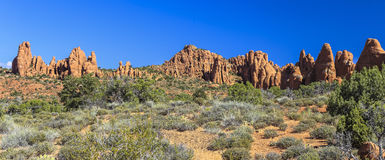 Het Nationale Park van bogen, Utah royalty-vrije stock afbeelding