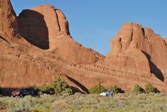 Het Nationale Park van bogen in Utah, de V.S. Stock Foto's