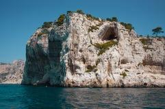 Het Nationale Park van Calanques, Zuid-Frankrijk Stock Foto