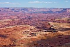 Het Nationale Park van Canyonlands Stock Afbeelding